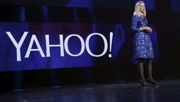 Yahoo CEO'su Marissa Mayer - Sputnik Türkiye