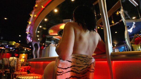 Almanya'da bir genelevdeki seks işçisi - Sputnik Türkiye