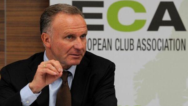 Avrupa Kulüpler Birliği (ECA) Başkanı Karl-Heinz Rummenigge - Sputnik Türkiye