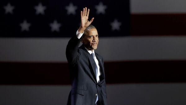 Obama'dan veda konuşması - Sputnik Türkiye