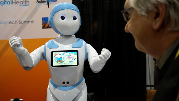 Çocuklar ve yaşlılar için geliştirilen Avatar iPal adlı robot - Sputnik Türkiye