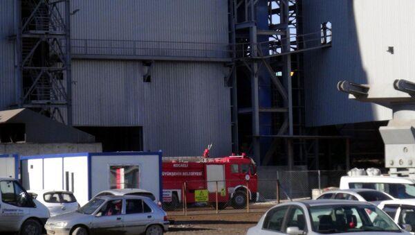 Fabrika'da patlama - Sputnik Türkiye