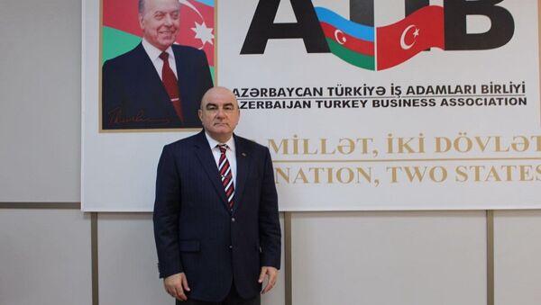Azerbaycan Türkiye İşadamları Birliği (ATİB) Başkanı Cemal Yangın - Sputnik Türkiye