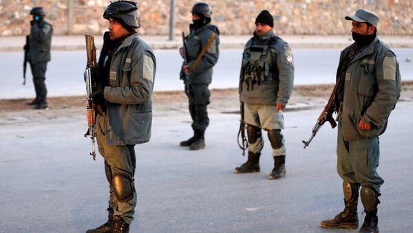 Afganistan polisi - Sputnik Türkiye