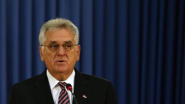 Sırbistan Devlet Başkanı Tomislav Nikoliç - Sputnik Türkiye