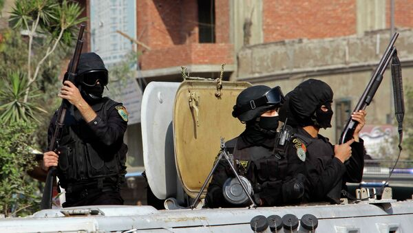 Mısır güvenlik güçleri (Arşiv) - Sputnik Türkiye