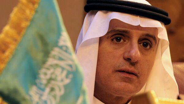 Suudi Arabistan Dışişleri Bakanı Adil el Cubeyr - Sputnik Türkiye