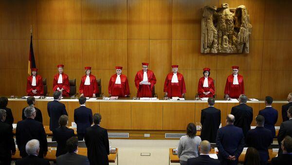 Almanya Anayasa Mahkemesi NPD kararı - Sputnik Türkiye
