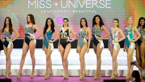 Filipinler'de Kainat Güzeli adayları bikini turunda yarıştı - Sputnik Türkiye