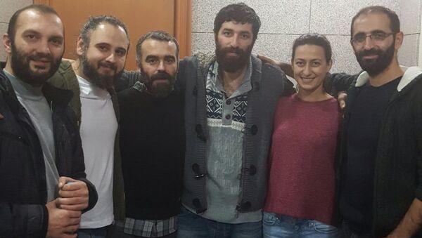 Ömer Çelik - Tunca Öğreten - Metin Yoksu - Eray Sargın - Derya Okatan - Mahir Kanaat - Sputnik Türkiye