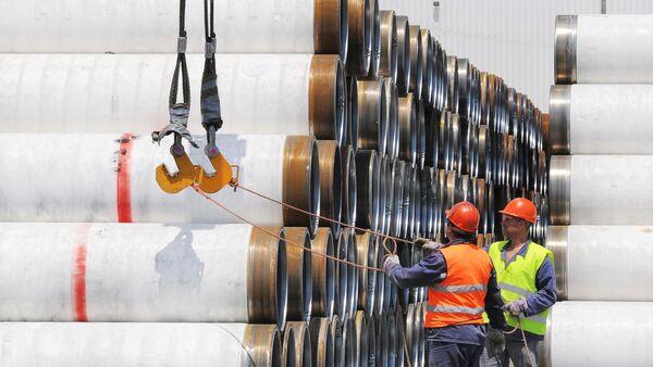 The Turkish Stream Offshore Pipeline Türk akımı - Sputnik Türkiye