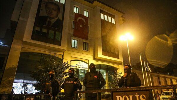 AK Parti İstanbul İl Başkanlığı'na saldırı - Sputnik Türkiye