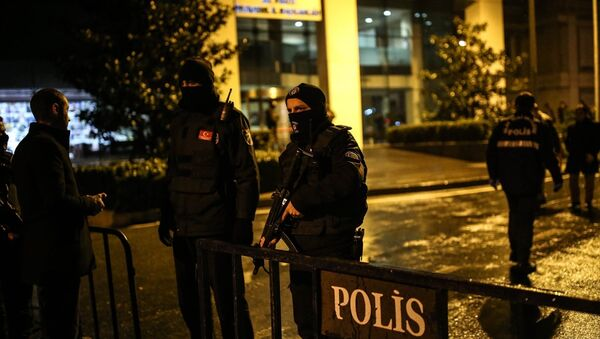 AK Parti İstanbul İl Başkanlığı'na lav silahlı saldırı - Sputnik Türkiye