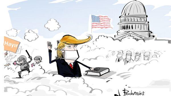 Trump'ın yemin töreni - Sputnik Türkiye
