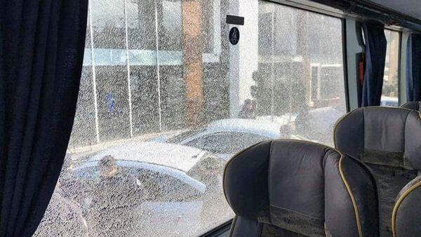 Amedspor'un takım otobüsü taşlandı - Sputnik Türkiye