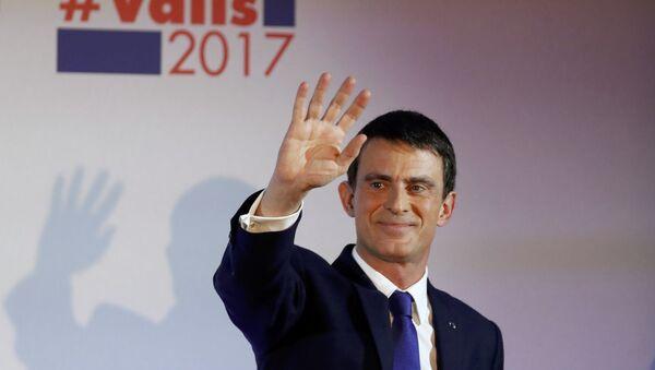 Fransa eski başbakanı Manuel Valls - Sputnik Türkiye
