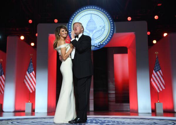 ABD Başkanı Donald Trump ve eşi Melania Trump - Sputnik Türkiye