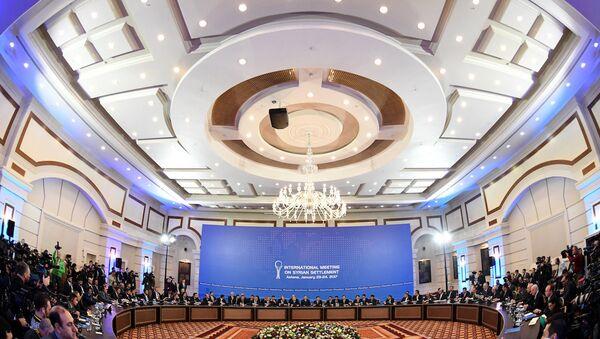 Astana'daki Suriye görüşmeleri - Sputnik Türkiye