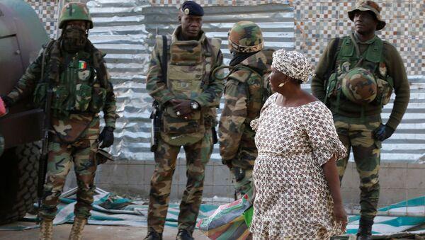 Gambiya'daki ECOWAS askerleri - Sputnik Türkiye