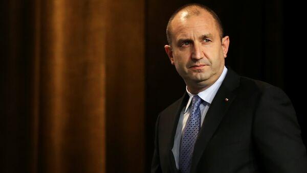 Bulgaristan Cumhurbaşkanı Rumen Radev - Sputnik Türkiye