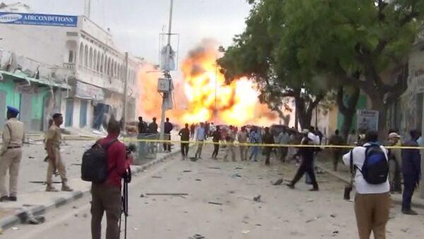 Mogadişu'da El Şebab saldırısı - Sputnik Türkiye