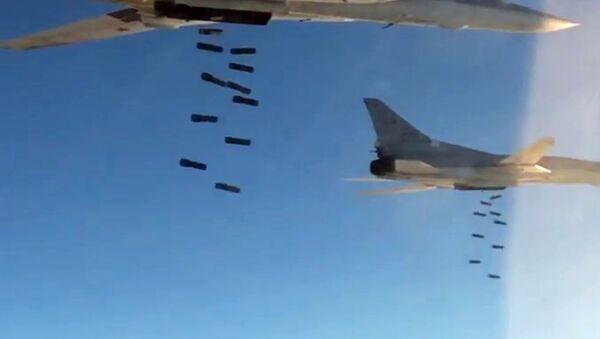 Long-distance supersonic Tu-22 M3 missile-carriers. (File) - Sputnik Türkiye