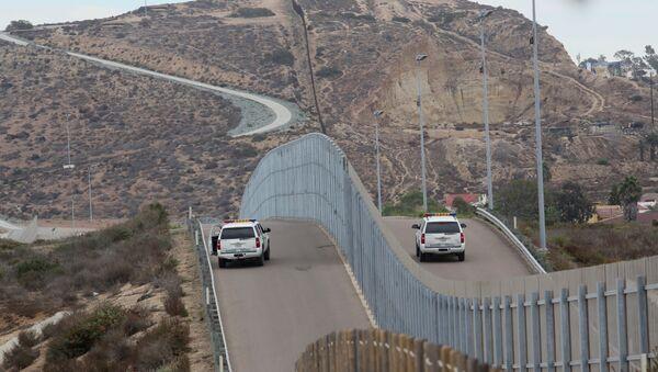 ABD-Meksika sınırı - Sputnik Türkiye
