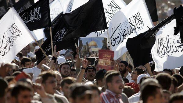 Hizb-ut Tahrir destekçileri - Sputnik Türkiye