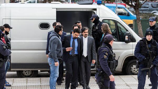 Yunanistan'a kaçan darbeci askerler - Sputnik Türkiye