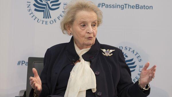 Madeleine Albright - Sputnik Türkiye