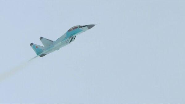 Rusya'nın yeni nesil savaş uçağı MiG-35'in ilk test uçuşu yapıldı - Sputnik Türkiye