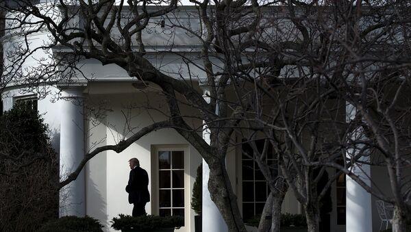 Donald Trump Beyaz Saray'da - Sputnik Türkiye
