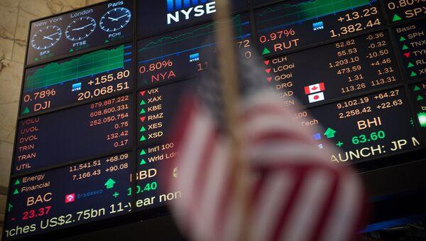 ABD ekonomisi - New York Borsası - Dow Jones Endeksi - Sputnik Türkiye