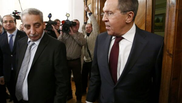 Lavrov, Suriye muhalefeti temsilcileri ile Moskova'da görüştü - Sputnik Türkiye