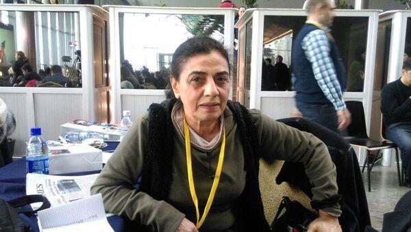 Suriyeli akademisyen ve siyaset uzmanı Dr. Fouzieh Alfrihat - Sputnik Türkiye