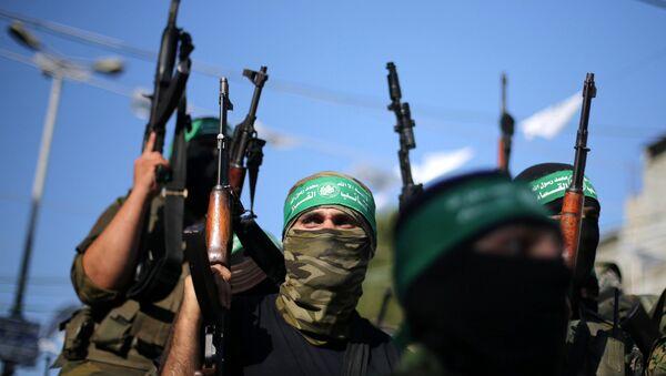 Hamas militanları - Sputnik Türkiye