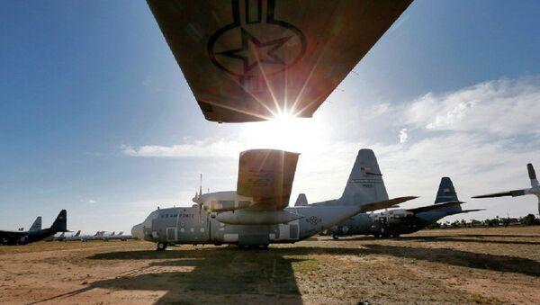ABD'de uçak mezarlığı - Sputnik Türkiye