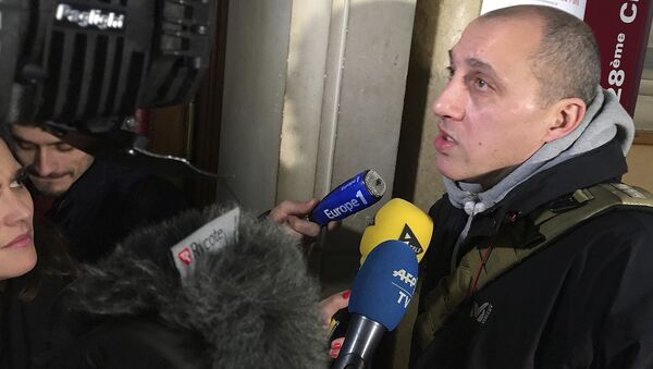 Örümcek Adam lakaplı Fransız hırsız Vjeran Tomic - Sputnik Türkiye