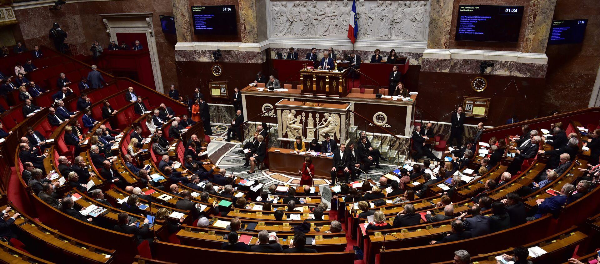 Fransa parlamentosu - Sputnik Türkiye, 1920, 17.09.2020