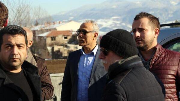 Mehmet Ali Ağca - Alaattin Çakıcı ziyareti - Sputnik Türkiye