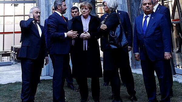 Almanya Başbakanı Angela Merkel, TBMM'de - Sputnik Türkiye