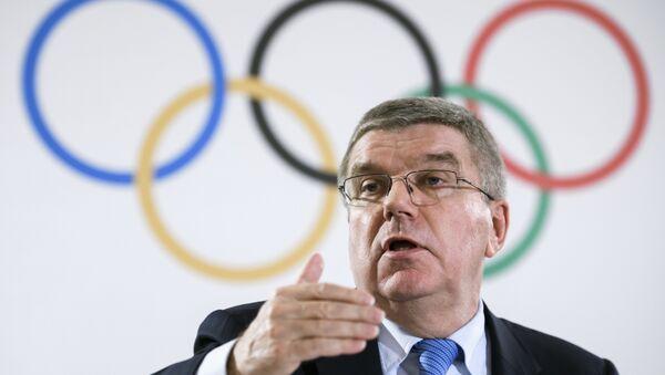 Uluslararası Olimpiyat Komitesi Başkanı Thomas Bach - Sputnik Türkiye