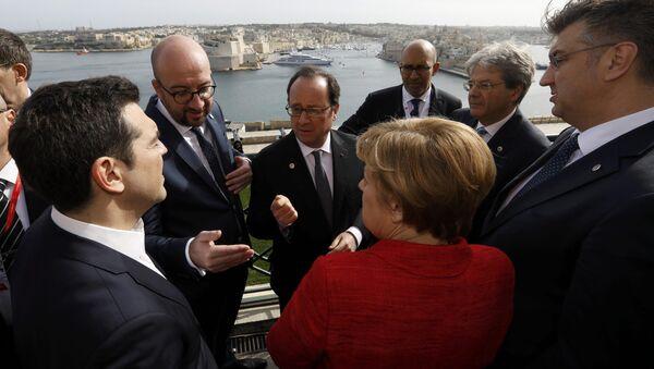 Malta'da gayriresmi AB Liderler Zirvesi yapıldı - Sputnik Türkiye