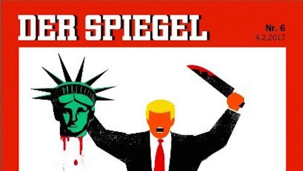 Der Spiegel'in Trump kapağı - Sputnik Türkiye