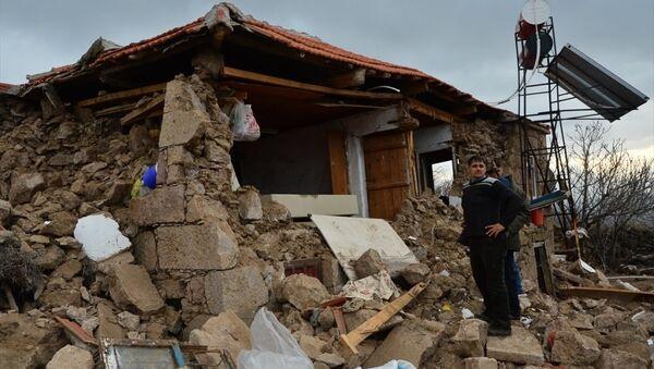 Çanakkale'deki deprem - Sputnik Türkiye