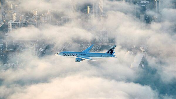 Katar Havayolları / Doha-Auckland arası en uzun uçuş - Sputnik Türkiye