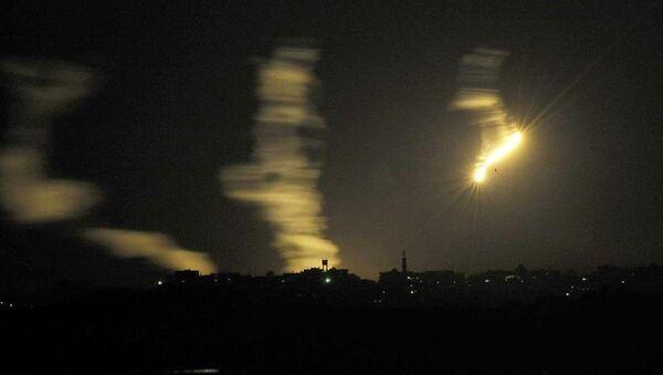 İsrail-Gazze saldırı - Sputnik Türkiye