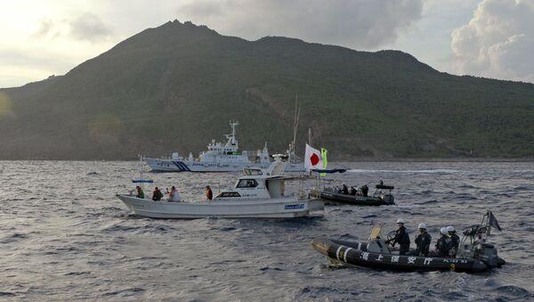 Çin ve Japonya'nın üzerinde hak iddia ettiği Senkaku (Diaoyu) adaları - Sputnik Türkiye