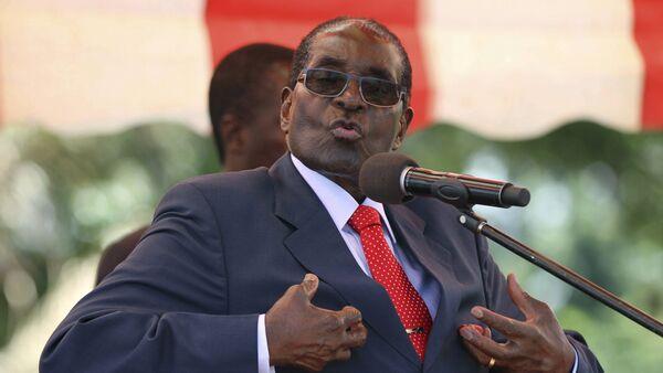 Zimbabwe lideri Mugabe - Sputnik Türkiye