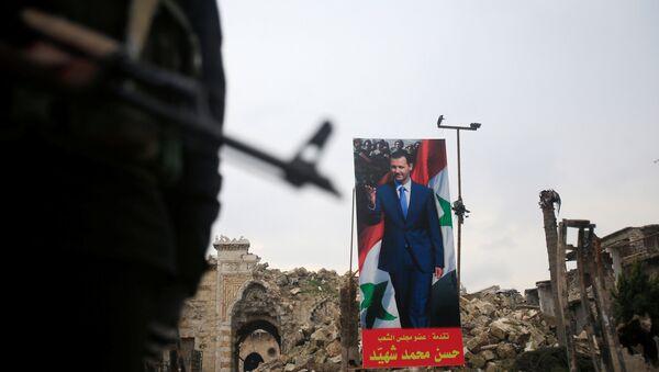 Suriye ordusu- Suriye Devlet Başkanı Beşar Esad - Sputnik Türkiye